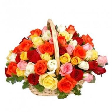 Arreglo de 50 rosas mix