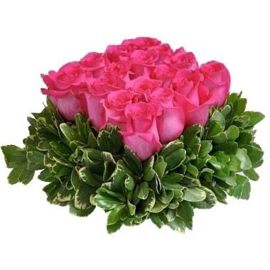 Cuadrado de rosas