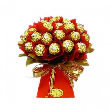 Sólo para Bogotá - Bouquet de Ferrero Rocher