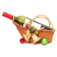 Canasta con vino