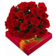 24 Rosas y Chocolates