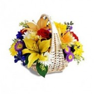 Arreglo de flores variadas