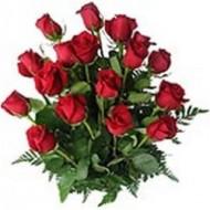 Arreglo de 18 rosas