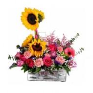 Arreglo floral vitage