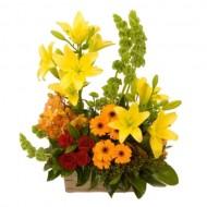 Arreglo de flores brillante