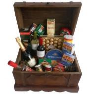 Baúl de madera gourmet