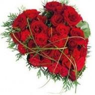 Coraz�n de rosas