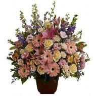 Arreglo de flores mixtas de Condolencias