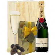 Moet & Chandon Champgne y chocolates