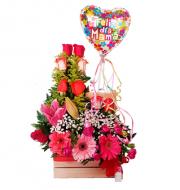 Arreglo de flores para Mamá
